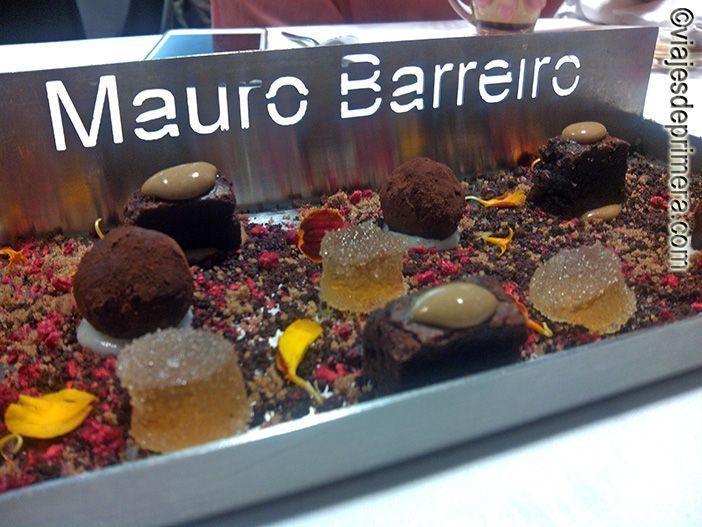 Postres en el restaurante La curiosidad de Mauro Barreiro de Cádiz