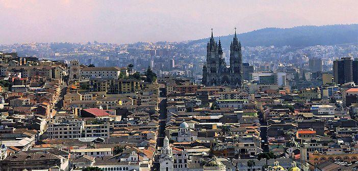 Perfil de la ciudad de Quito, en Ecuador. Foto de Pixabay.