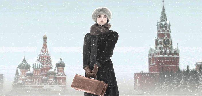 Detalle de la portada de Una pasión rusa, de Reyes Monforte, en la editorial Espasa.