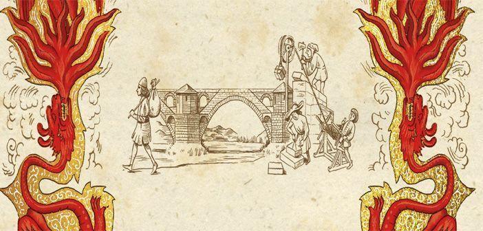 Detalle de la portada de la novela histórica La sal de la tierra, de Daniel Wolf.