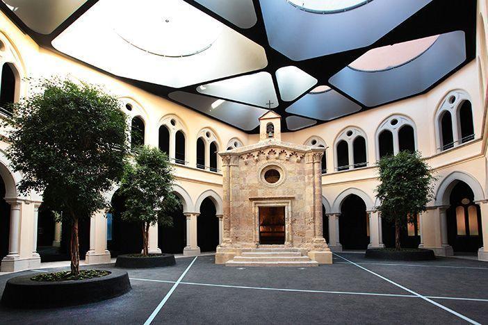 La Capilla de San Pablo, del siglo XIII, de Tarragona. Fotografía cedida por el Museo Bíblico de Tarragona.
