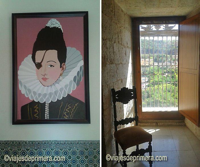 La Princesa de Éboli fue encerrada y murió en el palacio de Pastrana, otro de los iconos del Viaje a la Alcarria de Camilo José Cela.