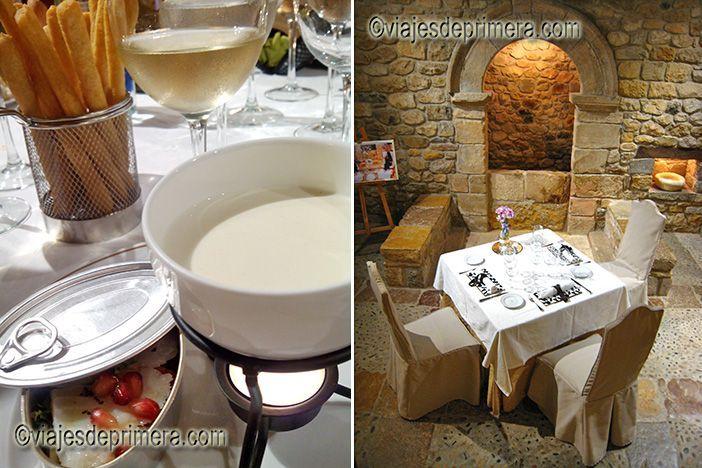 Cenas en espacios singulares del Parador de Cangas de Onís