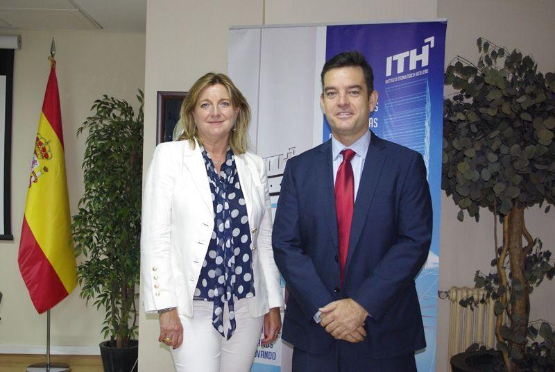 Ana Espinel, directora general de Audiotec y Álvaro Carrillo, dirctor general de ITH.