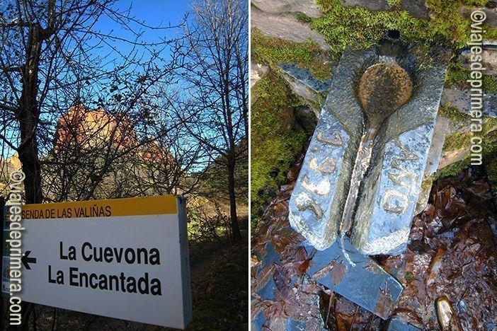 Hay varios senderos a través de los cuales recorrer el paisaje de Las Médulas, con miradores y lugares arqueológicos de interés como La Cuevona