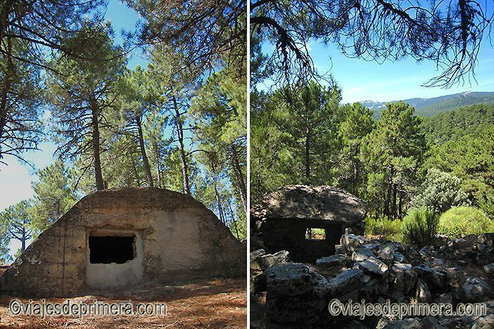 La Ruta de las Trincheras de La Jarosa permite llegar a los búnkeres, trincheras y parapetos del Frente de Guadarrama de la Guerra Civil española