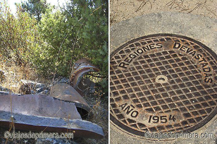 En la Vereda del Agua se encuentran restos del patrimonio urbanístico de los años 50