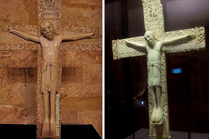 Crucifijo de Don Fernando y Doña Sancha, arte románico en España