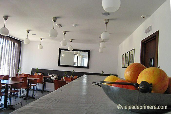 Comedor del hotel agrochic El Hotelito, en Navaluenga, Ávila