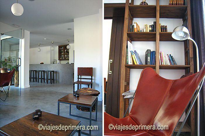 Zona de descanso en el hotel agrochic El Hotelito de Navaluenga, Ávila