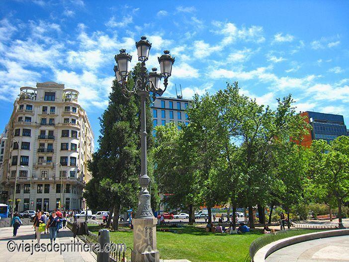 La Plaza de España de Madrid es uno de los lugares de interés en las celebraciones del dos de mayo de Madrid