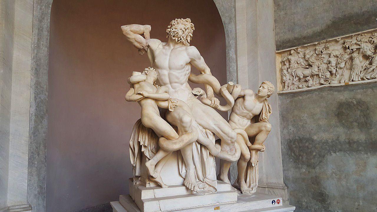 El Laocoonte es una de las obras de arte que tienes que ver en los Museos Vaticanos
