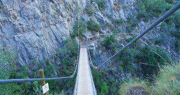 Ruta de los Puentes Colgantes de Chulilla, Valencia y sus rutas de senderismo para hacer en familia