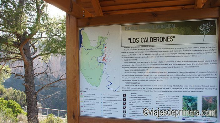 Ruta de los Puentes Colgantes de Chulilla también conocida como Ruta de los Calderones