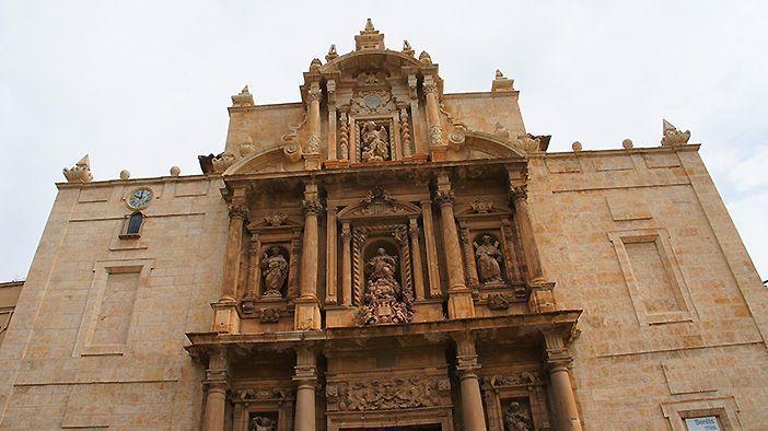 La iglesia de la Asunción es una de las cosas que ver en Llíria, Valencia