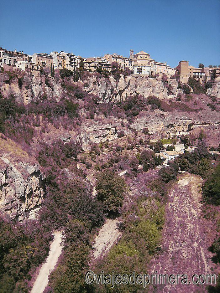 El Puente de San Pablo es también un magnífico mirador de Cuenca