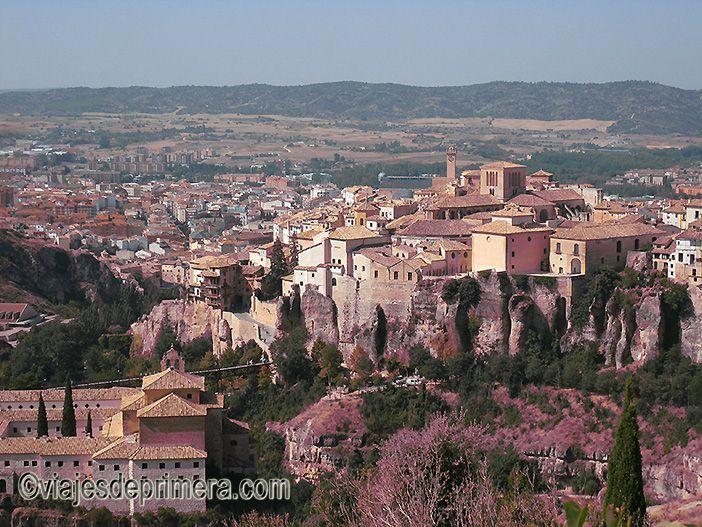 Desde el Barrio del Castillo se tienen las mejores panorámicas de Cuenca