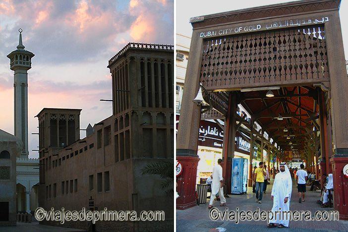 Bastakia es uno de los lugares que ver en Dubái si haces turismo en los Emiratos Árabes Unidos.