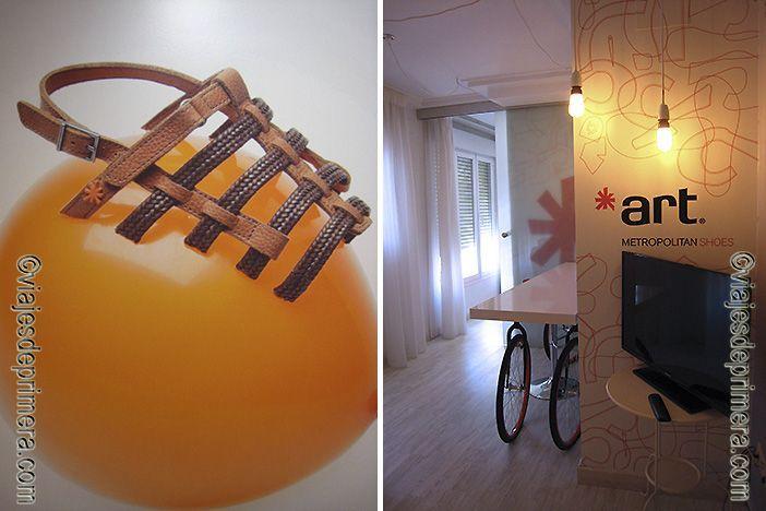 El mundo del calzado es la fuente de inspiración del diseño del hotel Ibis Styles Arnedo de La Rioja