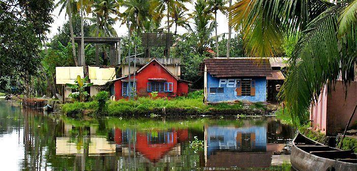Los Backwaters hacen de Kerala la particular Venecia de la India