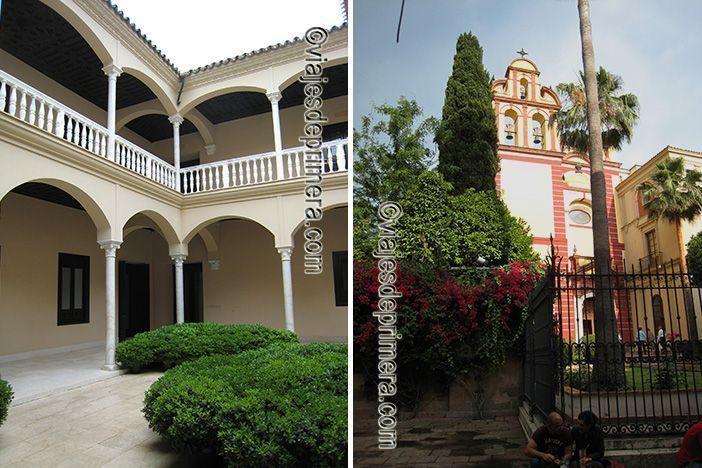 El Museo Carmen Thyssen de Málaga está ubicado en un palacio rehabilitado del siglo XVI