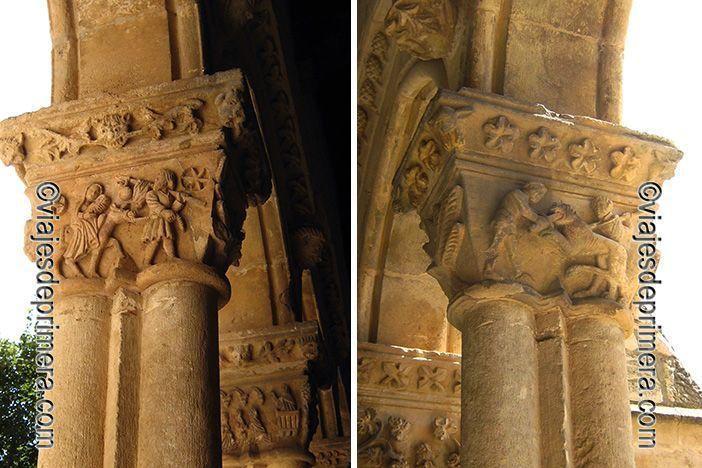 El claustro de Santa María la Real de Nieva estaba abierta al pueblo llano, en línea con la concepción de la religión de las órdenes mendicantes.
