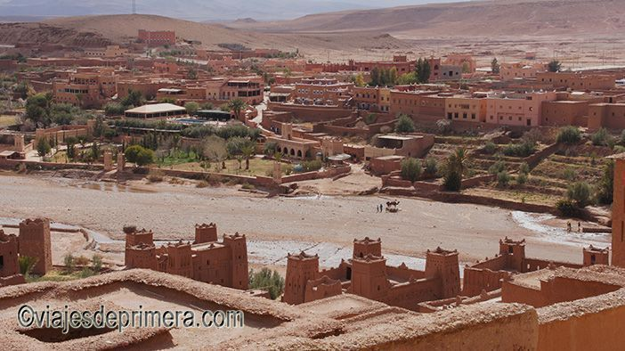 La kasbah de Ait Ben Haddou es la más importante de la Ruta de las Kabahs que puedes recorrer desde Marrakech
