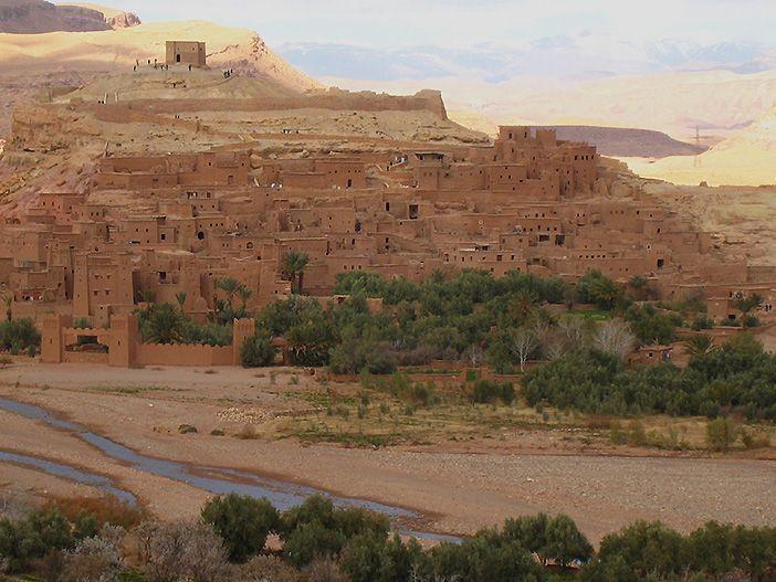 La Kasbah de Ait Ben Haddou es la más famosa de la Ruta de las mil kasbahs en Marruecos