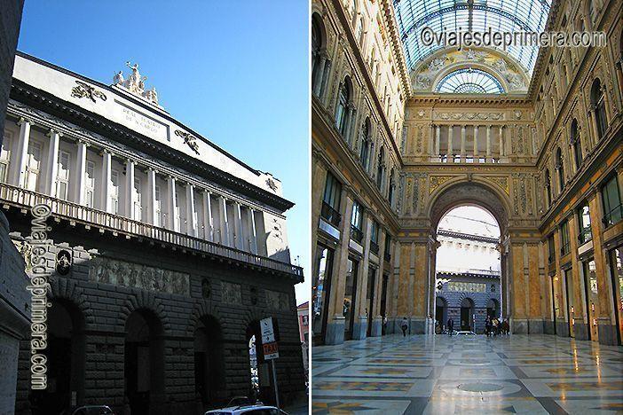 El Teatro San Carlo y la Galería de Umberto I son dos de lugares que ver en Nápoles.