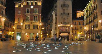 La Plaza del Torico es uno de los lugares de interés de Teruel más conocidos