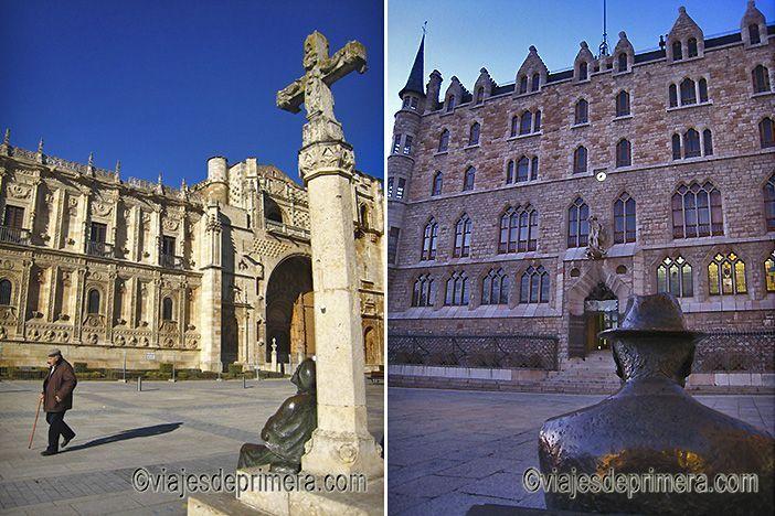 El Convento de San Marcos y la Casa de Botines de Gaudí son algunos de los lugares de interés en León