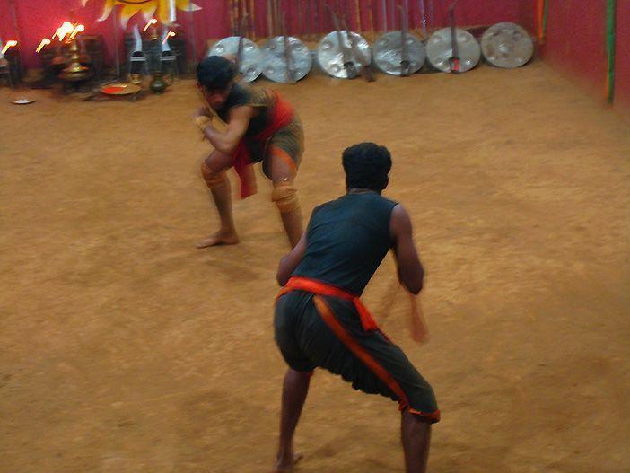 El Kalarippayat está considerado como uno de los primeros artes marciales del mundo