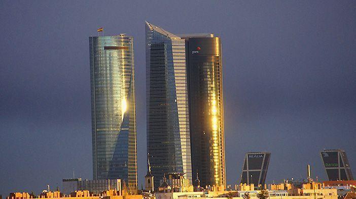 Los rascacielos más altos de Madrid están en el Paseo de la Castellana y ya se conocen popularmente como las 'Florentinas'