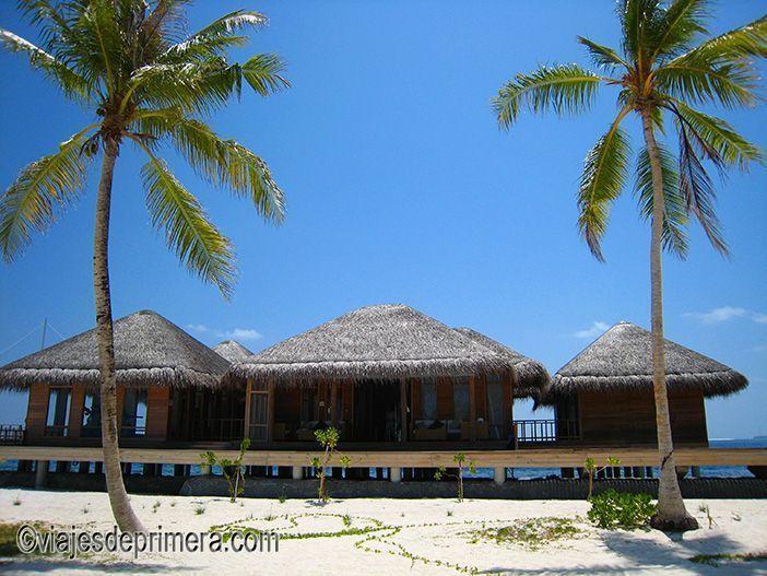 Los hoteles de las Maldivas tienen un nivel de servicios muy altos y se reparten entre varias islas del archipiélago