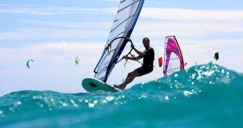 Lanzarote es un paraíso del windsurf