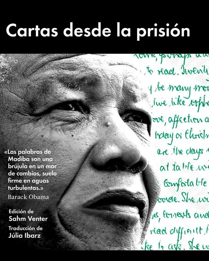 Libros sobre la biografía de Nelson Mandela durante su periodo en Robben Island.