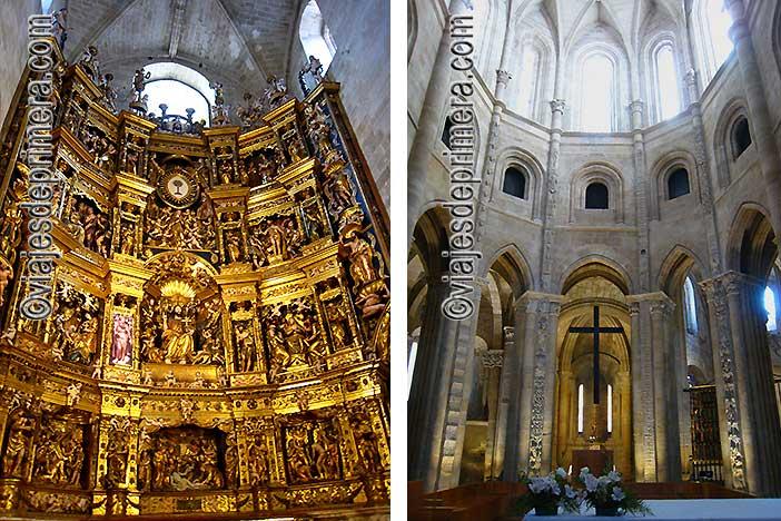 La Catedral de Santo Domingo de la Calzada es uno de los sitios que ver en La Rioja.