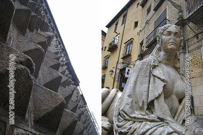 La Casa de los Picos de Segovia está muy cerca de las esfinges de la Plaza de Medina del Campo.