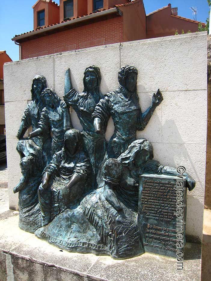 Qué-ver-en-Simancas-Monumento-de-las-Siete-Doncellas