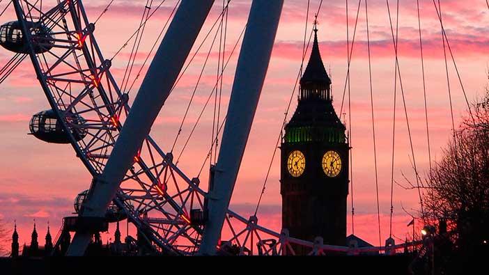 noria más alta de Europa, noria de Londres, London Eye o noria del milenio