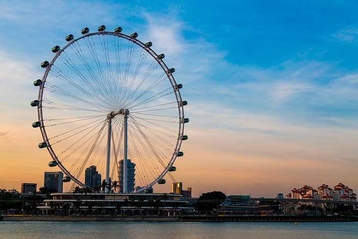 Singapore flyer segunda noria más alta del mundo