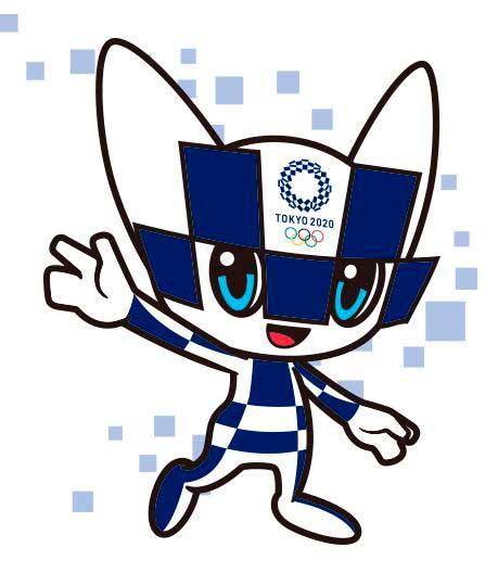 miraitowa es la mascota de los juegos olímpicos tokio 2020
