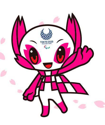 someity es la mascota de los juegos paralímpicos de tokio 2020