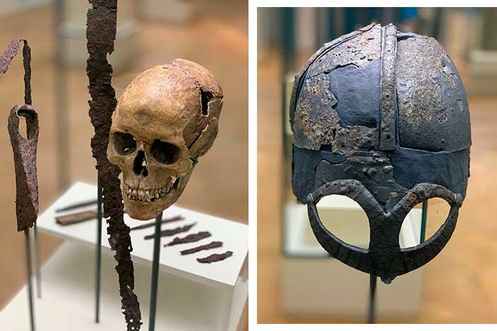 Vikingos-Noruega-craneo-y-yelmo-Tord-Baklund