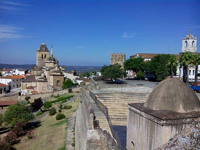 Fortaleza templaria de Jerez de los Caballeros Badajoz