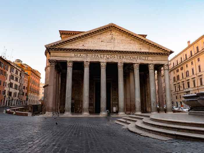 Panteón-clásico-de-Agripa-en-Roma