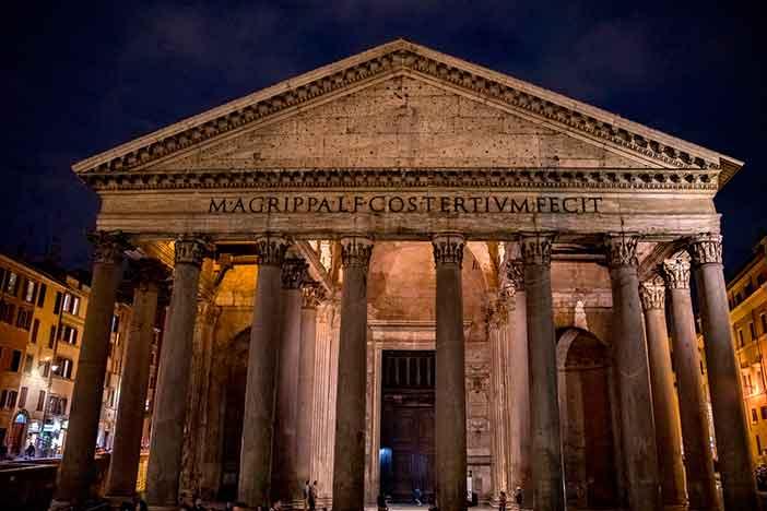 Panteón-de-Agripa-en-Roma