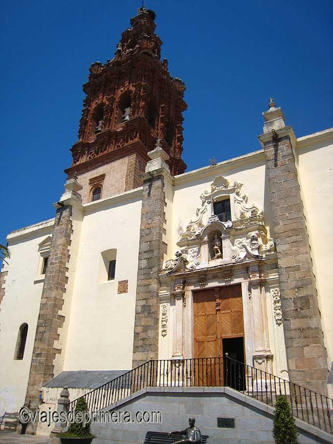Iglesia de San Miguel Arcángel en Jerez de los Caballeros, Badajoz, Extremadura