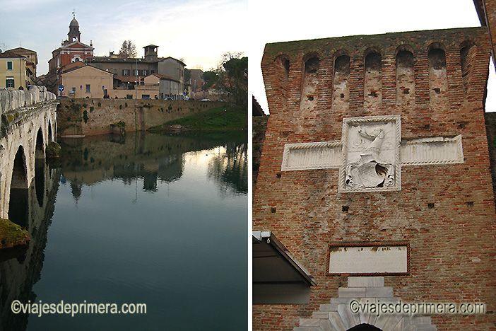 El Castillo de Malatesta es uno de los monumentos más singulares que hay que ver en Rímini. Malatesta hizo de esta ciudad una de las más importantes del Renacimiento.